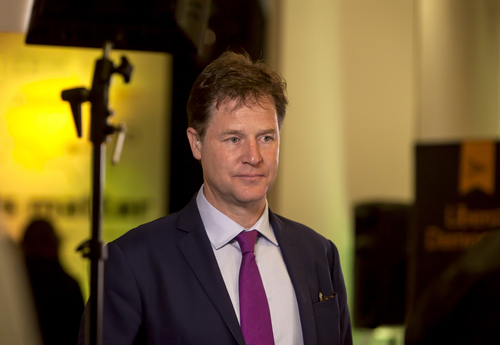 Nick Clegg 6th June 2017 editorial use only credit Ms Jane Campbell / Shutterstock.com